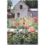 Trademark Global David Lloyd Glover Rose Garden Canvas Art, 16 x 24