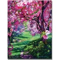 Trademark Global David Lloyd Glover in.Sakura Romancein. Canvas Art, 26in. x 32in.