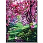 Trademark Global David Lloyd Glover Sakura Romance Canvas