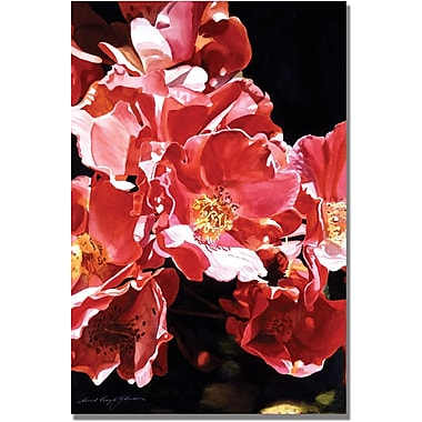 Trademark Global David Lloyd Glover in.Wild Rosesin. Canvas Art, 30in. x 47in.