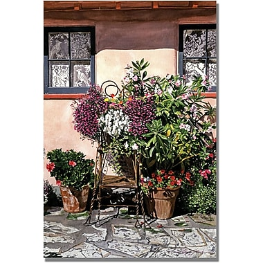 Trademark Global David Lloyd Glover in.Storybook Cottage Carmelin. Canvas Art, 30in. x 47in.