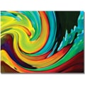 Trademark Global Amy Vangsgard in.Crashing Wavein. Canvas Art, 24in. x 32in.