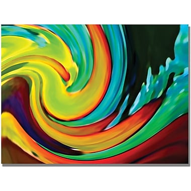 Trademark Global Amy Vangsgard in.Crashing Wavein. Canvas Art, 35in. x 47in.
