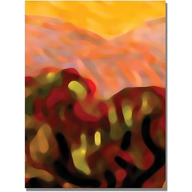 Trademark Global Amy Vangsgard in.Desert Olive Treesin. Canvas Art, 24in. x 32in.