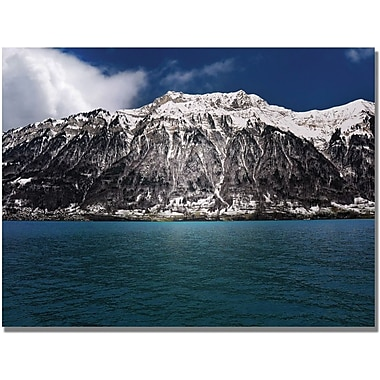 Trademark Global Philippe Sainte Laudy in.Brienz Lake Switzerlandin. Canvas Art, 30in. x 47in.