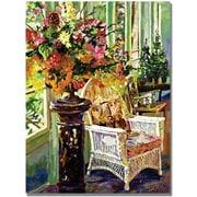 "Trademark Global David Lloyd Glover ""Sun Room"" Canvas Art, 35"" x 47"""