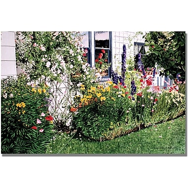 Trademark Global David Lloyd Glover in.The Tangled Gardenin. Canvas Art, 16in. x 24in.
