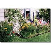 Trademark Global David Lloyd Glover The Tangled Garden Canvas Art, 22 x 32
