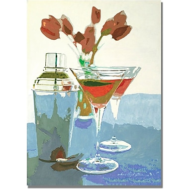 Trademark Global David Lloyd Glover in.Tulips and Martinisin. Canvas Art, 18in. x 24in.