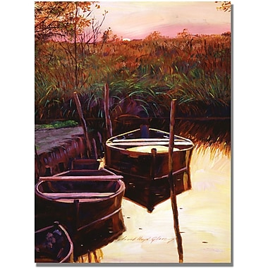 Trademark Global David Lloyd Glover in.Moment at Sunrisein. Canvas Arts