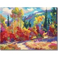 Trademark Global David Lloyd Glover in.The Colors of New Hampshirein. Canvas Art, 35in. x 47in.