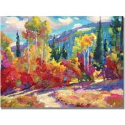 Trademark Global David Lloyd Glover The Colors of New Hampshire Canvas Art, 35 x 47
