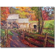 "Trademark Global David Lloyd Glover ""Memories of Autumn"" Canvas Art, 22"" x 32"""