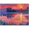 Trademark Global David Lloyd Glover in.Daybreak Reflectionin. Canvas Art, 18in. x 24in.
