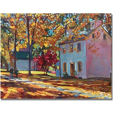 Trademark Global David Lloyd Glover in.Pennsylvania Colorsin. Canvas Arts