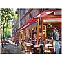 "Trademark Global David Lloyd Glover ""Paris Cafe"" Canvas"
