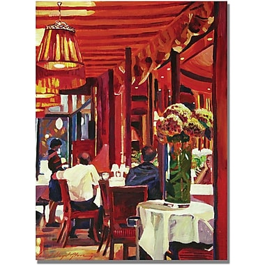 Trademark Global David Lloyd Glover in.Chez Parisianin. Canvas Art, 18in. x 24in.