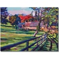 Trademark Global David Lloyd Glover in.Country Housein. Canvas Arts