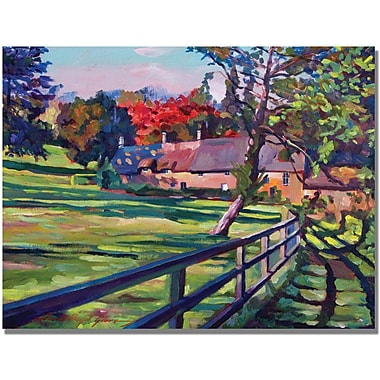 Trademark Global David Lloyd Glover in.Country Housein. Canvas Art, 35in. x 47in.