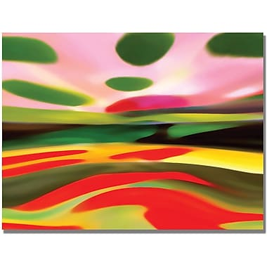 Trademark Global Amy Vangsgard in.Landscape of Happinessin. Canvas Art, 18in. x 24in.