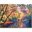 "Trademark Global David Lloyd Glover ""Color Reflections"" Canvas Art, 35"" x 47"""