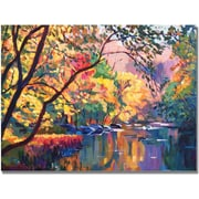 "Trademark Global David Lloyd Glover ""Color Reflections"" Canvas Art, 24"" x 32"""