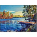 Trademark Global David Lloyd Glover in.End of Summerin. Canvas Arts
