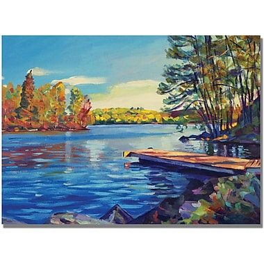 Trademark Global David Lloyd Glover in.End of Summerin. Canvas Art, 35in. x 47in.