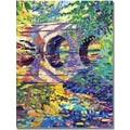 Trademark Global David Lloyd Glover in.Stone Footbridgein. Canvas Arts