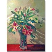 "Trademark Global David Lloyd Glover ""A Glass Full of Spring"" Canvas Art, 18"" x 24"""