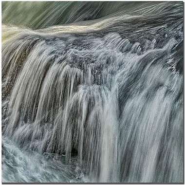 Trademark Global Philippe Sainte Laudy in.Waterfall in Din. Canvas Art, 14in. x 14in.