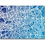 Trademark Global Michael Tompsett london Map Canvas Art,