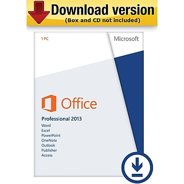 Microsoft Office Professional 2013 for Windows (1-User) [Download]