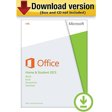 Microsoft Office Home & Student 2013 for Windows (1-User) [Download]