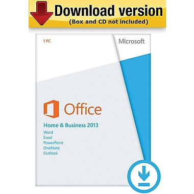 Microsoft Office Home & Business 2013 for Windows (1-User) [Download]