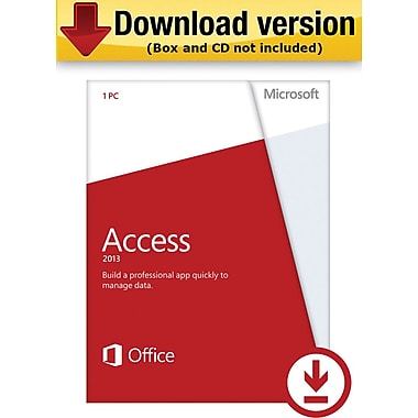 Microsoft Access 2013 for Windows (1-User) [Download]