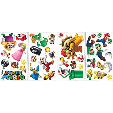 RoomMates® Super Mario™ Peel and Stick Wall Decal, 10in. x 18in.