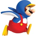 RoomMates® New Super Mario™ Bros. Wii Penguin Mario Peel and Stick Giant Wall Decal, 27in. x 40in.