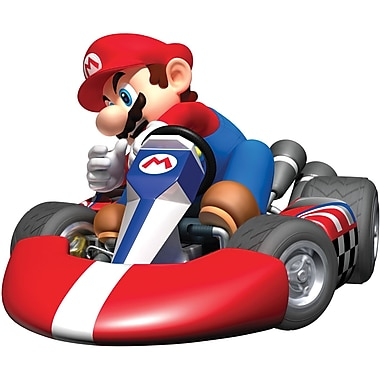 RoomMates® Mario Kart Wii Peel and Stick Giant Wall Decal, 27