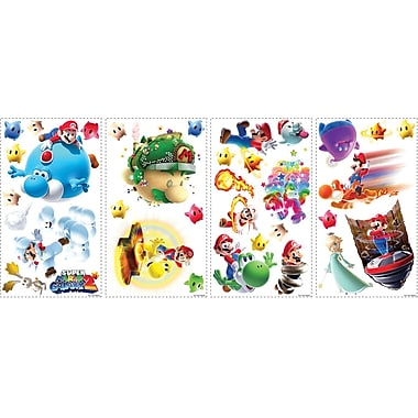 RoomMates® Super Mario™ Galaxy 2 Peel and Stick Wall Decal, 10in. x 18in.