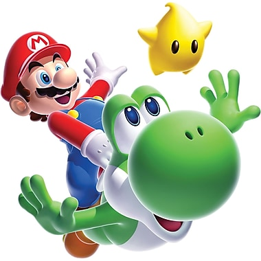 RoomMates® Super Mario™ Galaxy 2 Peel and Stick Giant Wall Decal, 27