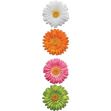 RoomMates® Gerber Daisy Peel and Stick 3D Wall Decal, 4in. H x 4in. W