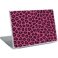 RoomMates® Pink Fur Peel and Stick Laptop Wear, 10 2/7in. H x 14 1/4in. W