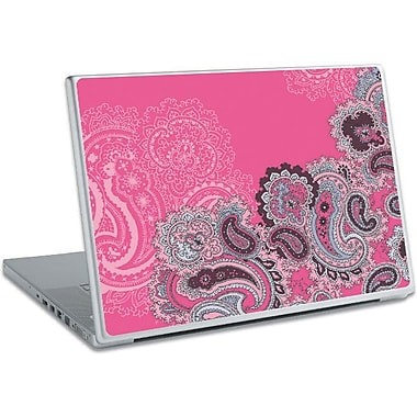 RoomMates® Pink Paisley Peel and Stick Laptop Wear, 10 2/7in. H x 14 1/4in. W