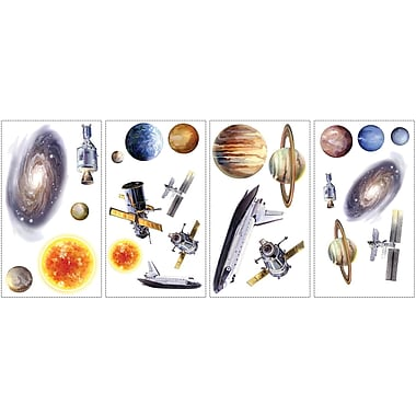 RoomMates® Space Travel Peel and Stick Wall Decal, 10in. x 18in.