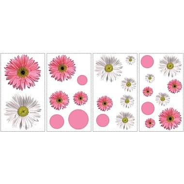 RoomMates® Flower Power Peel and Stick Wall Decal, 10in. x 18in.