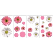 "RoomMates® Flower Power Peel and Stick Wall Decal, 10"" x 18"""