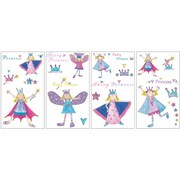 "RoomMates® Fairy Princess Peel and Stick Wall Decal, 10"" x 18"""