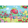 RoomMates® Strawberry Shortcake Chair Rail Prepasted Wall Mural, 6 ft H x 10 1/2 ft W