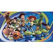 RoomMates® Toy Story 3 Chair Rail Prepasted Wall Mural, 6 ft H x 10 1/2 ft W